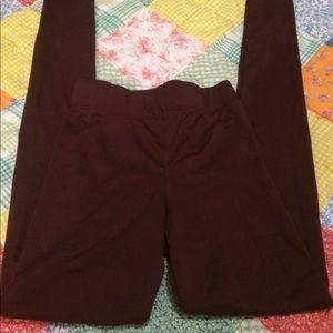 Burgundy Rue21 leggings